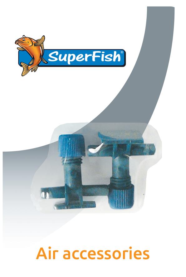 SuperFish Robinet tuyaux à air 2 pcs.