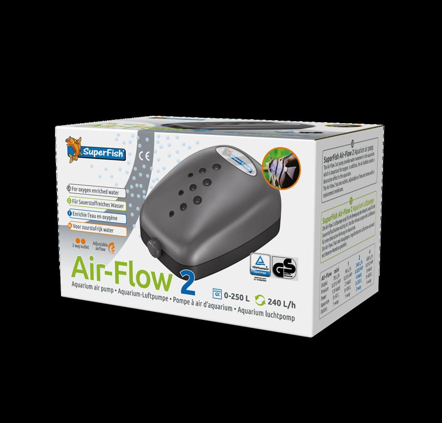 SuperFish Pompe à air Air-flow 2