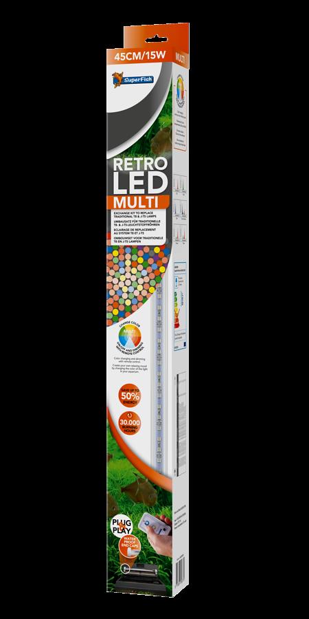 SuperFish Retro LED multi T8 & JUVEL T5 - 15W 45cm