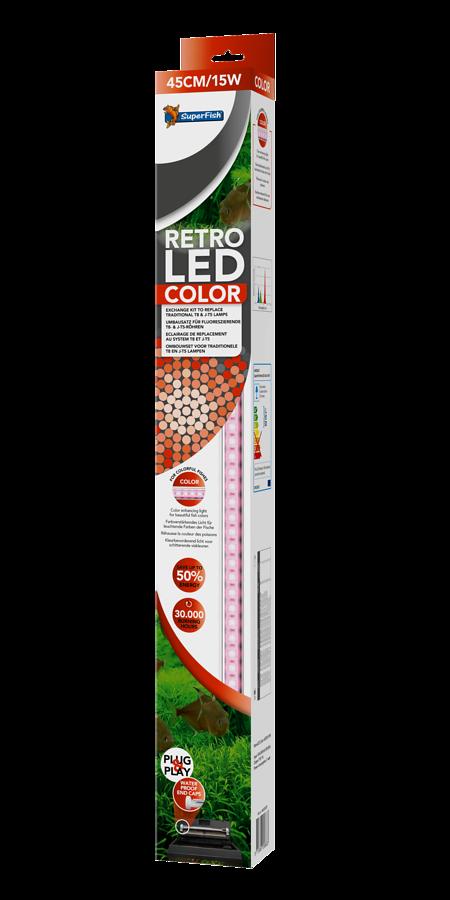 SuperFish Retro LED color T8 & JUVEL T5 - 38W 100cm