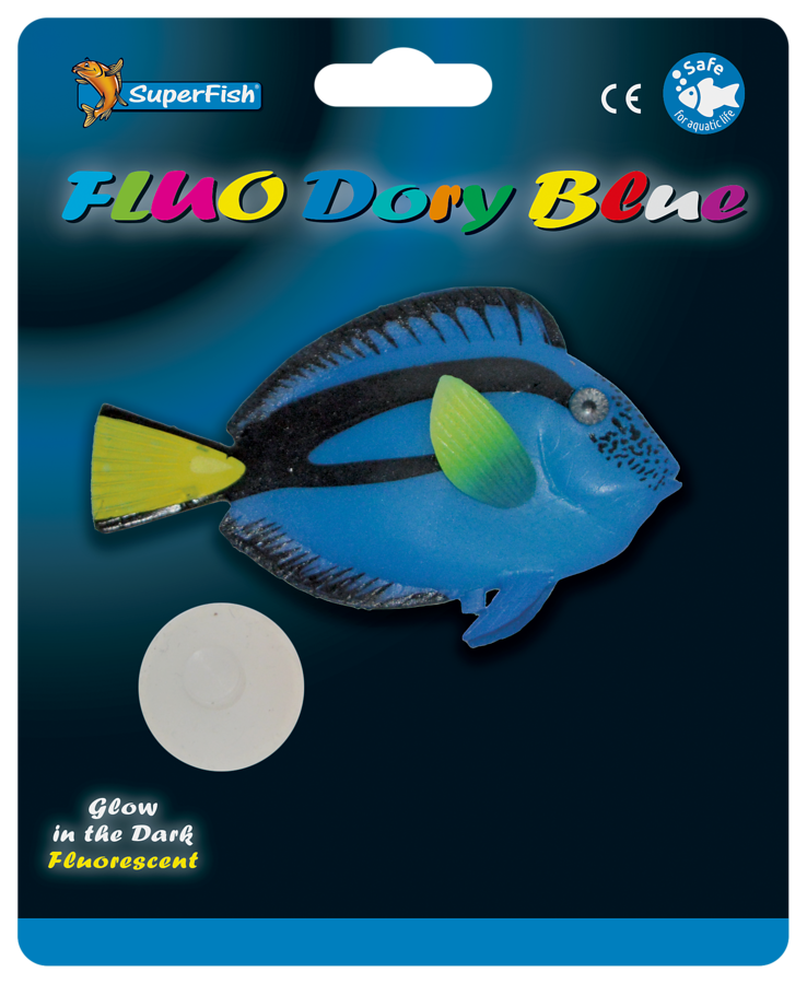 SUPERFISH FLUO DORY BLEU