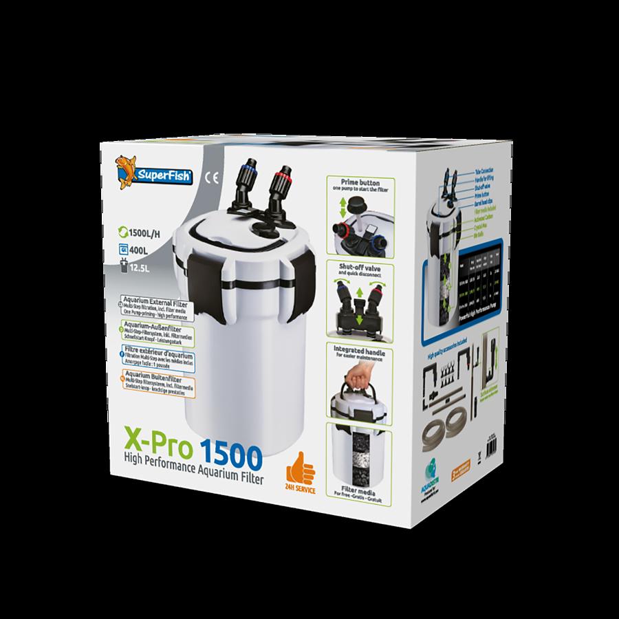 SuperFish Filtre X PRO 1500