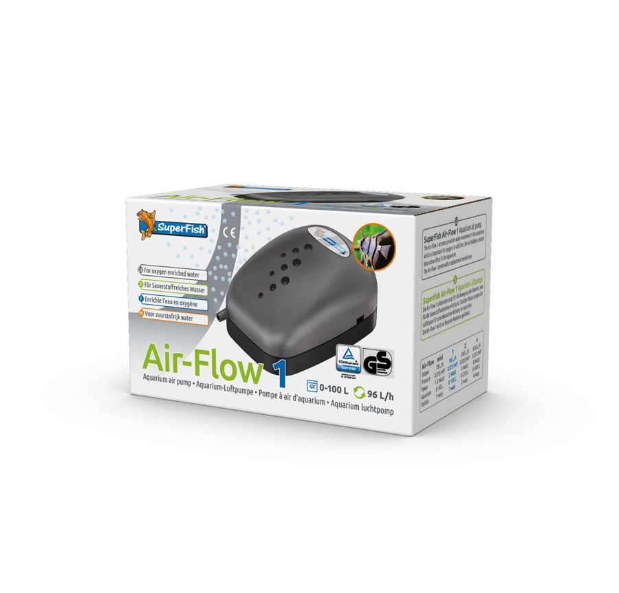 SuperFish Pompe à air Air-flow 1