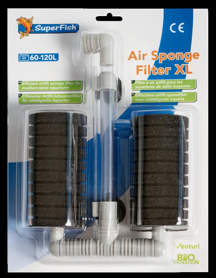 SuperFish Filtre exhausteur Air Sponge XL