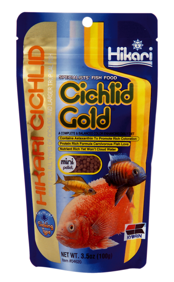 HIKARI CICHLID GOLD MINI 100 GR  COULANT