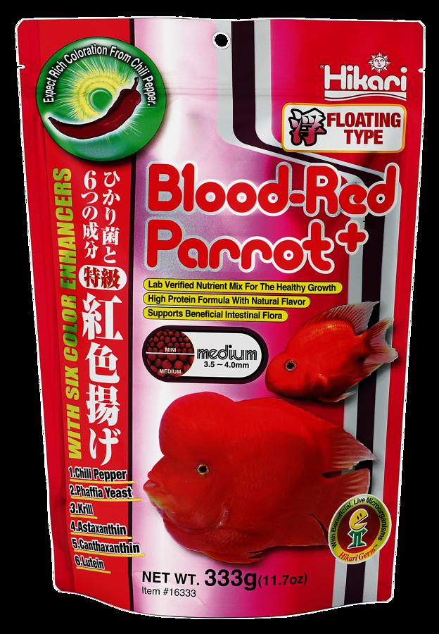 HIKARI BLOOD-RED PARROT PLUS MEDIUM 333 GR