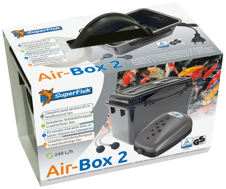 SuperFish Kit d\'aération Air-Box 2