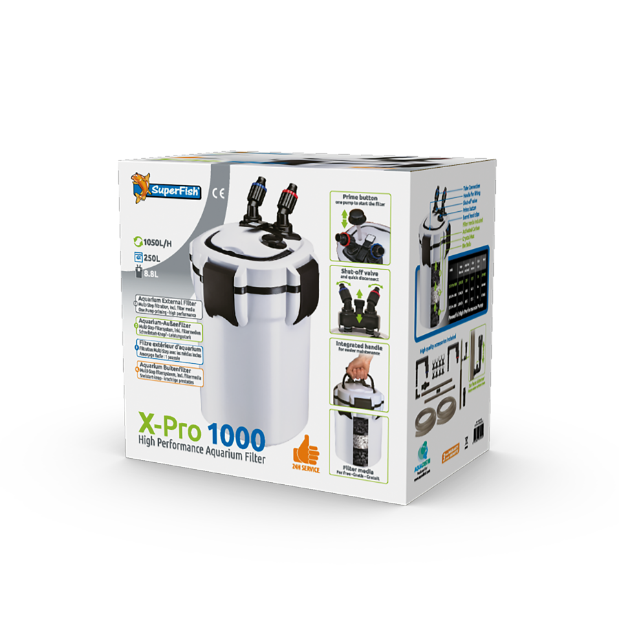 SuperFish Filtre X PRO 1000