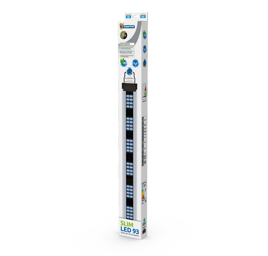 SuperFish Rampe Slim LED - 59 W 93cm