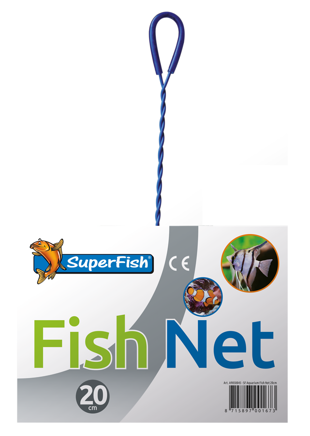 SuperFish Epuisette 20 cm