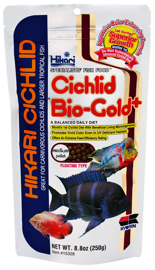 HIKARI CICHLID BIO-GOLD PLUS MINI 250 GR