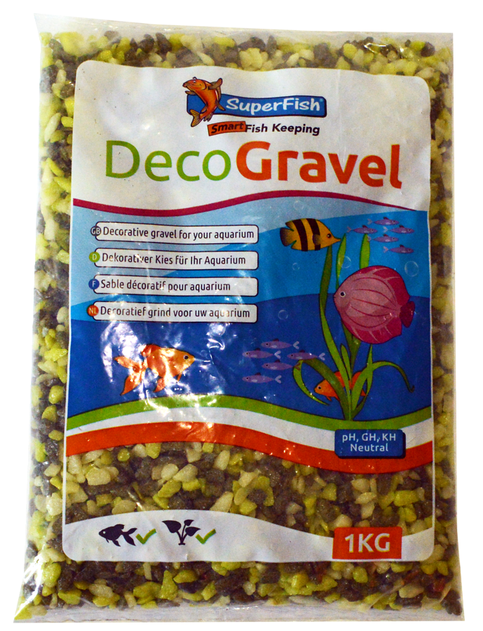 SuperFish  Sable décoratif MIX vert 1kg