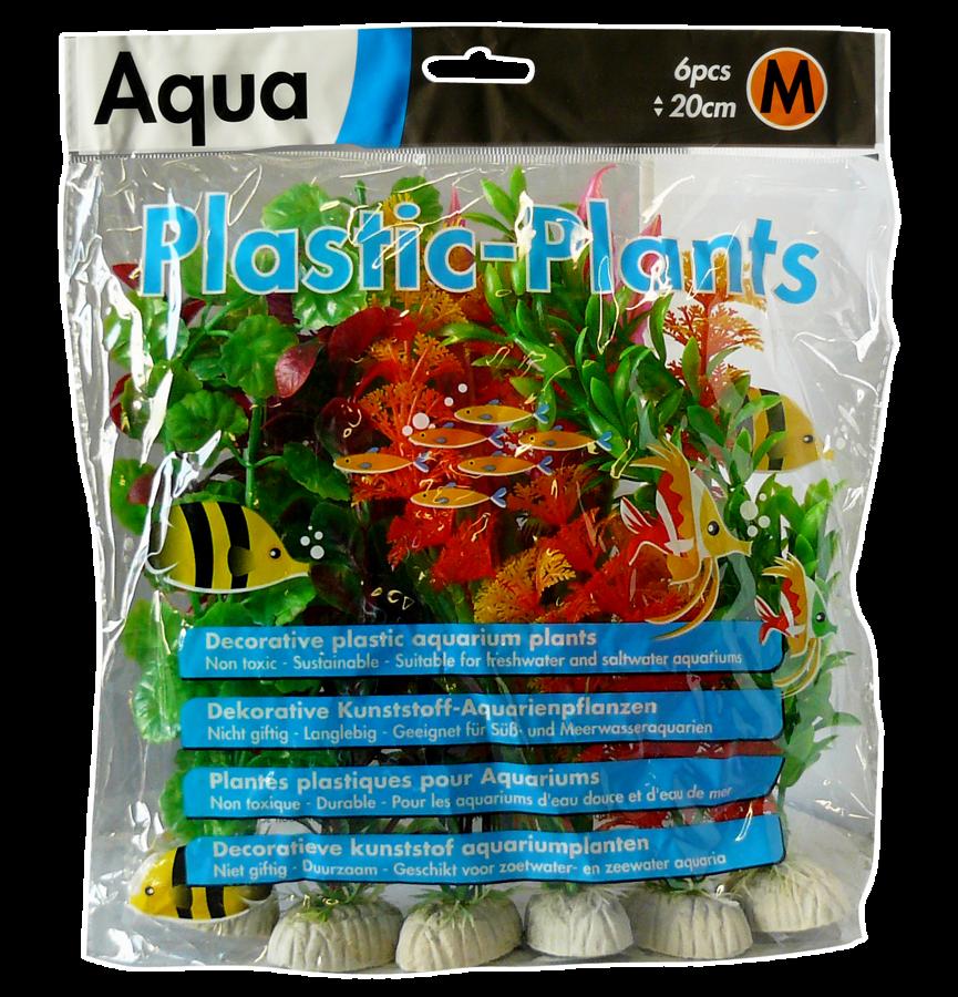 SUPERFISH AQUA PLANTS MEDIUM(20CM) 6 PCS