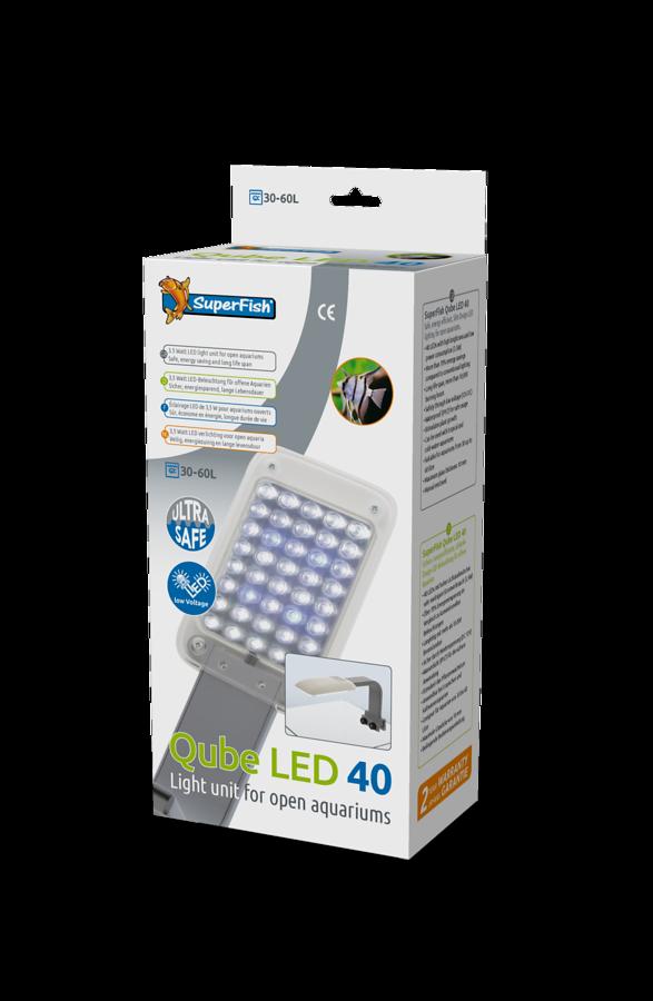 SuperFish Qube LED 40