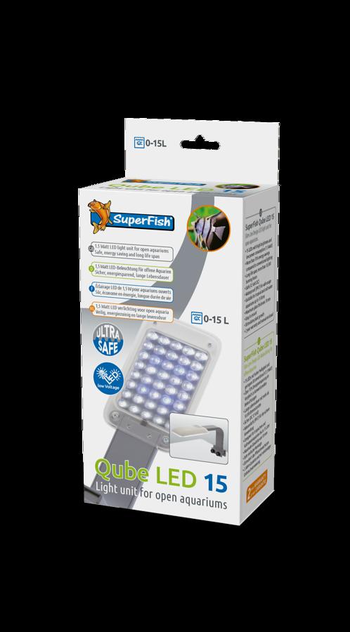 SuperFish Qube LED 15