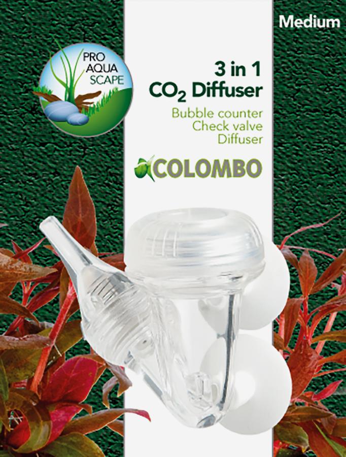 COLOMBO Diffuseur CO2 3 en 1 medium