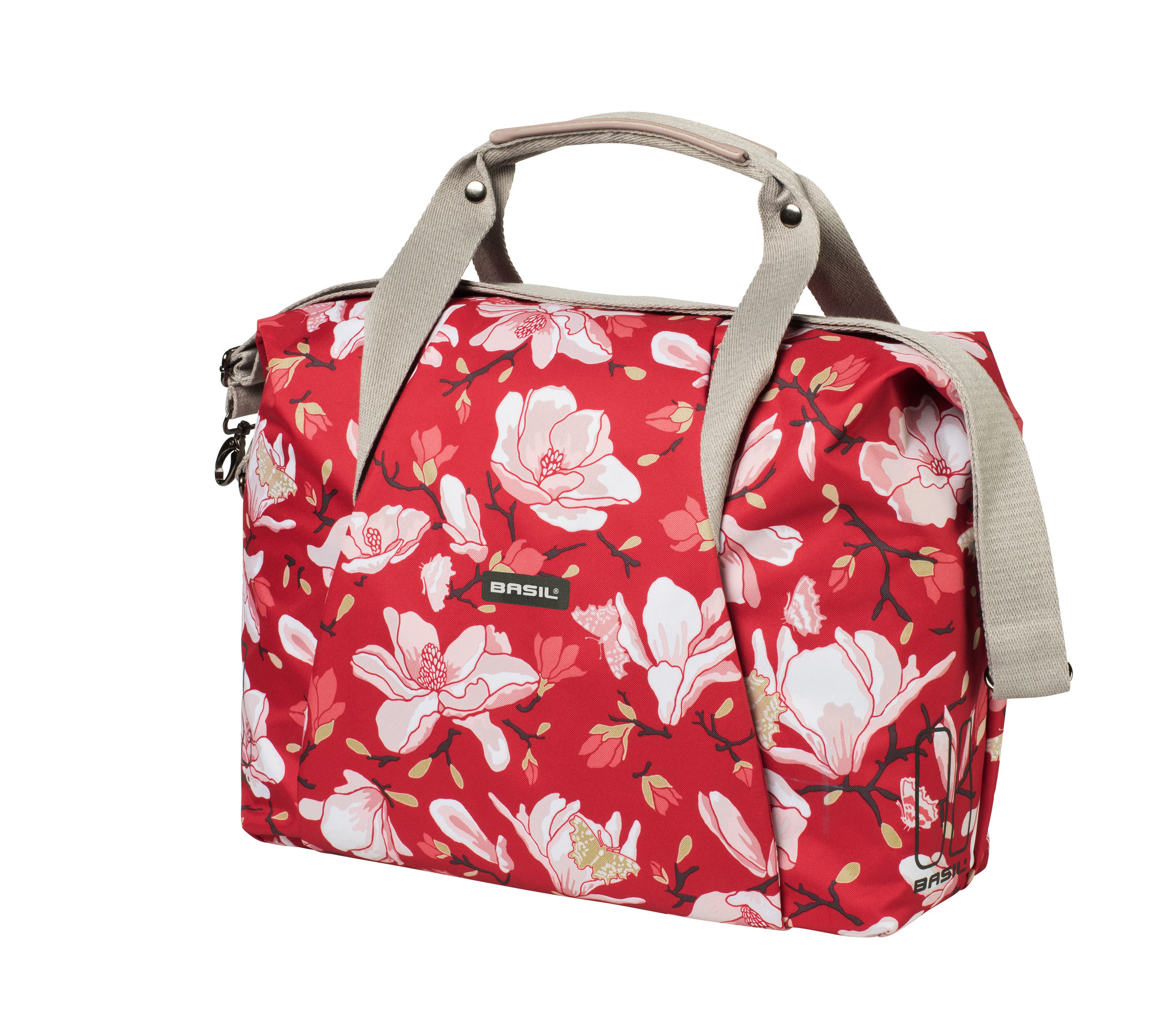 Sacoche Basil Magnolia Carry Bag Poppy Red