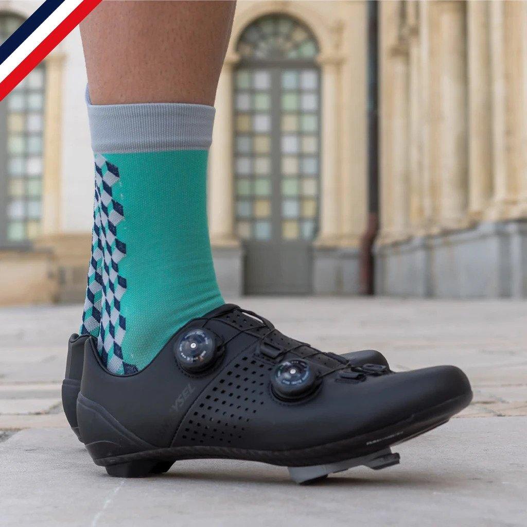Chaussettes de cyclisme Cubiques
