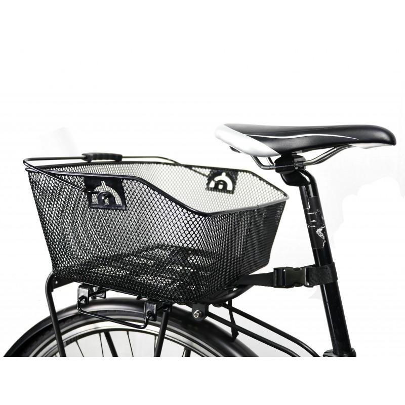 Panier arrière vélo métal