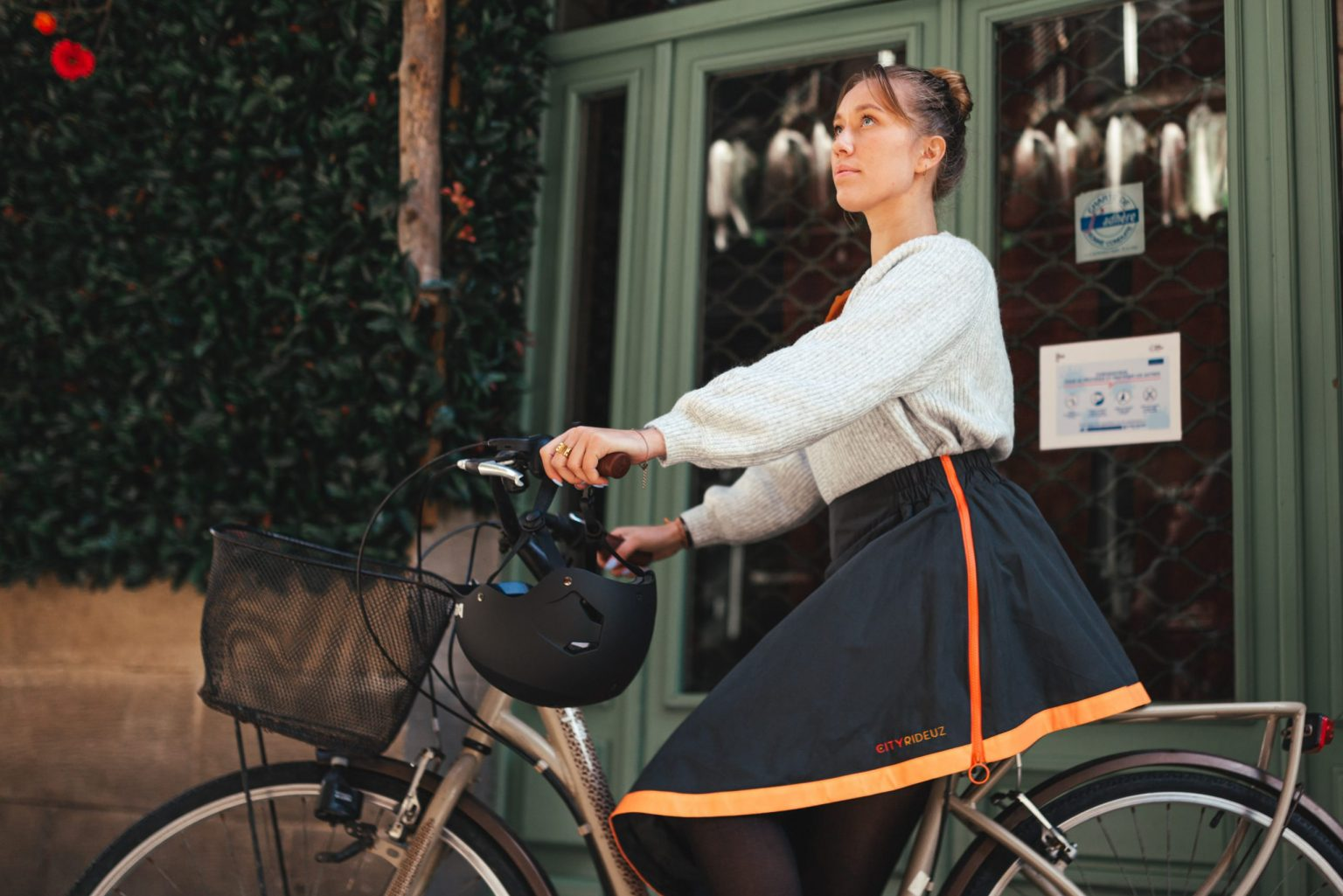 Sur-jupe vélo Clara