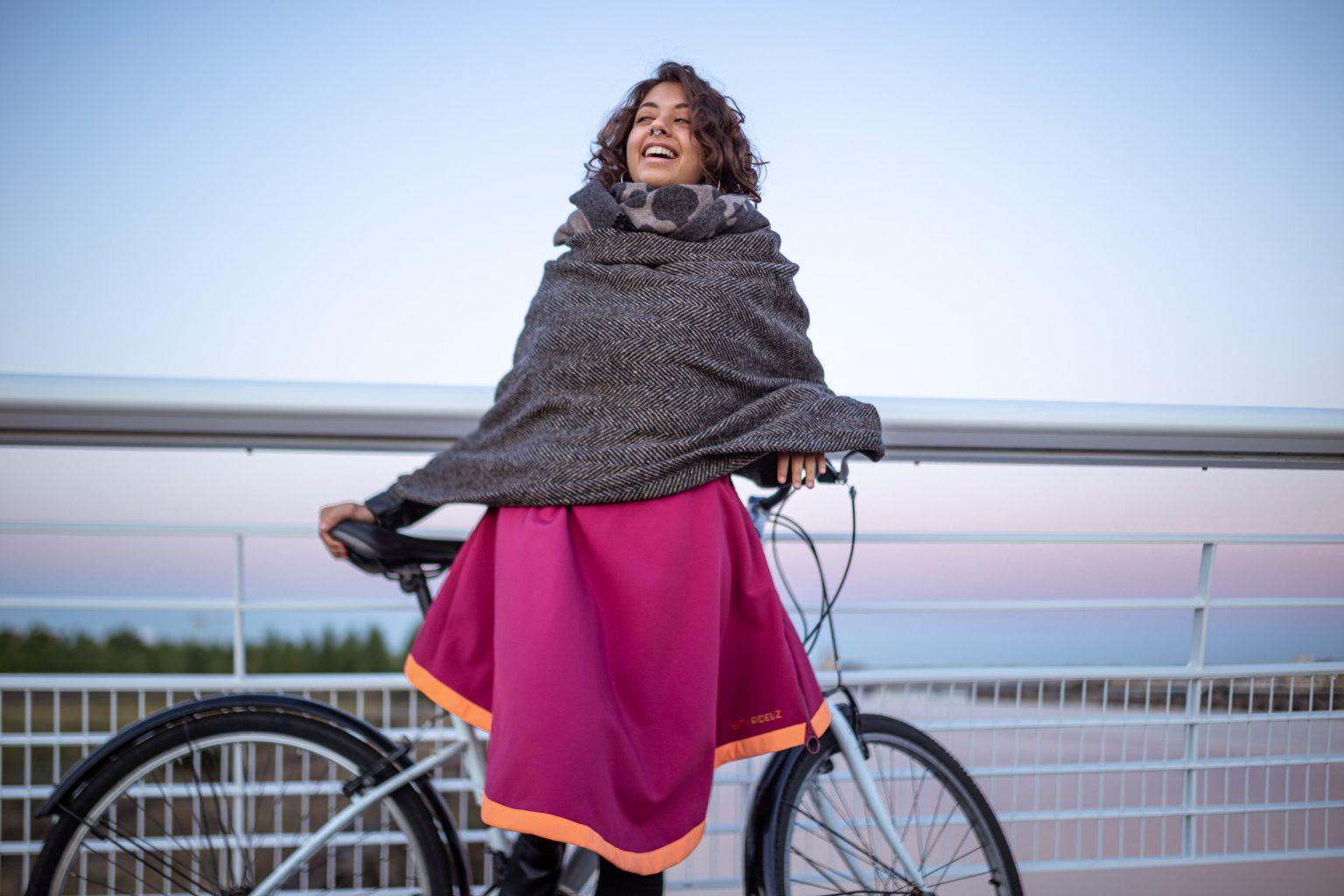 Sur-jupe vélo Holly