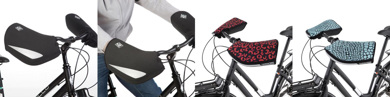 Bannière manchons imperméables vélo