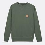 darney-sweat-col-rond-en-coton-recycle-vert-clair
