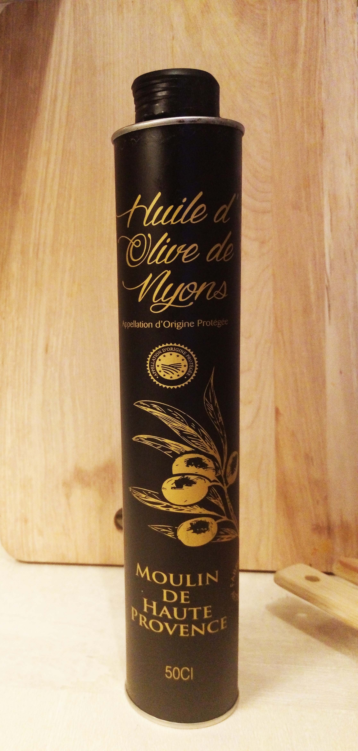 Huile d\'olive AOP Nyons 50 cl