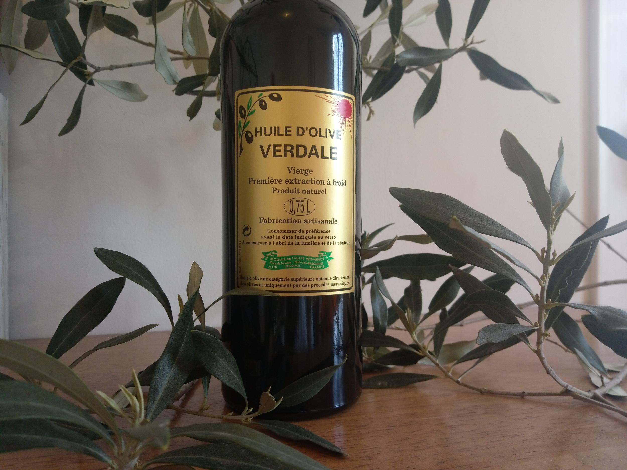 Huile d\'Olive Verdale Bouteille 75 cl