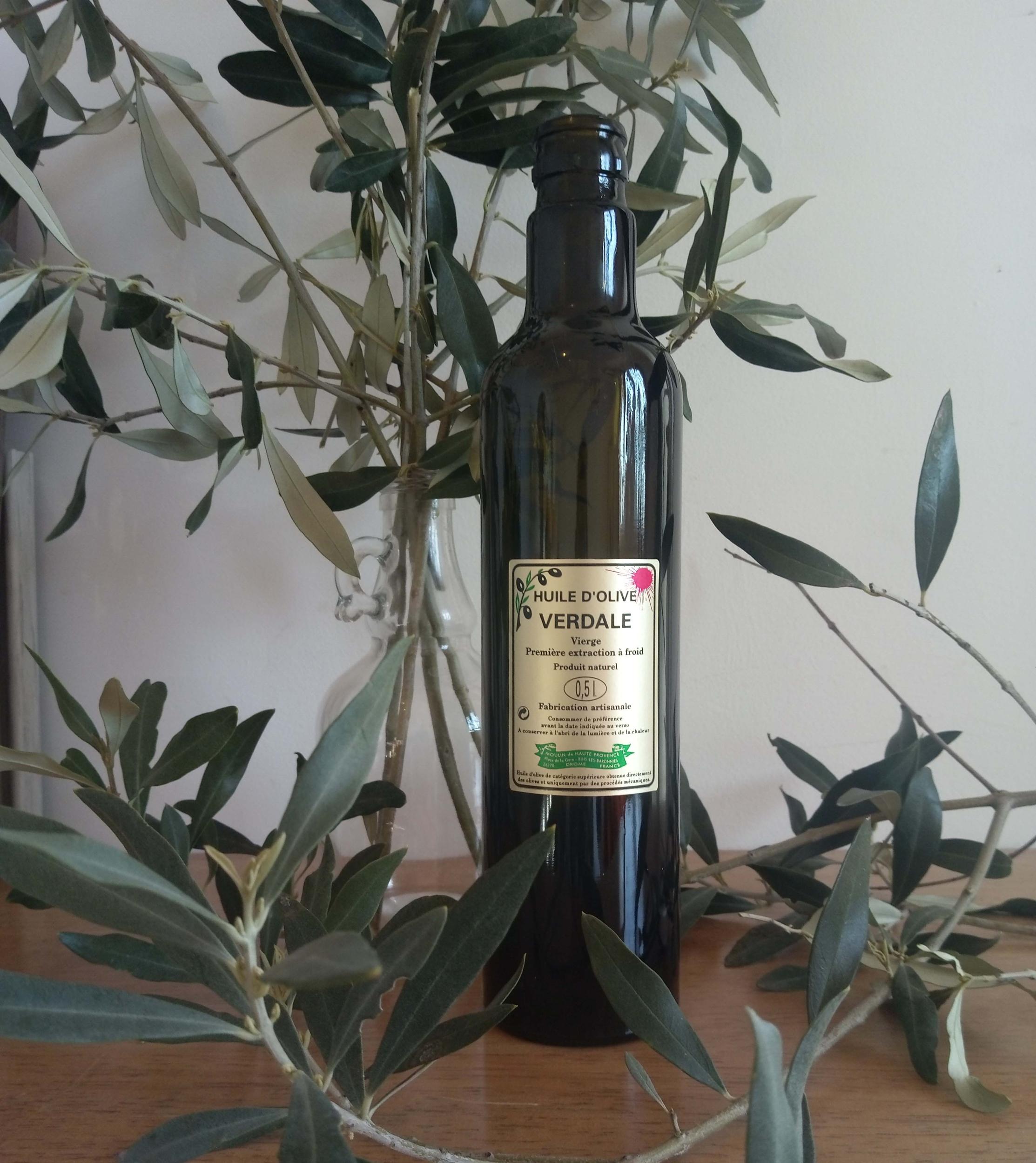 Huile d\'olive Verdale Bouteille 50 cl