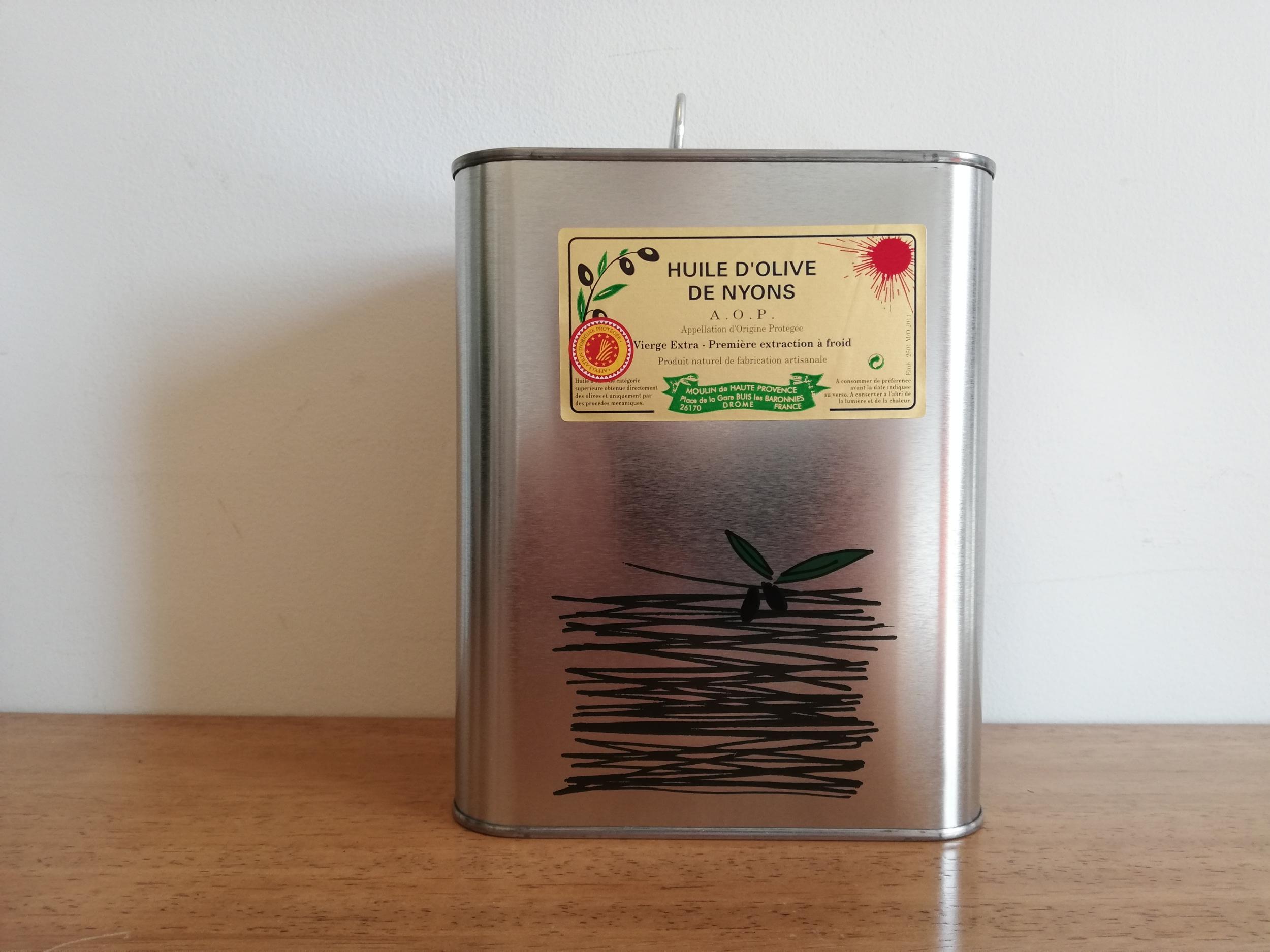 huile olive nyons aop 2L