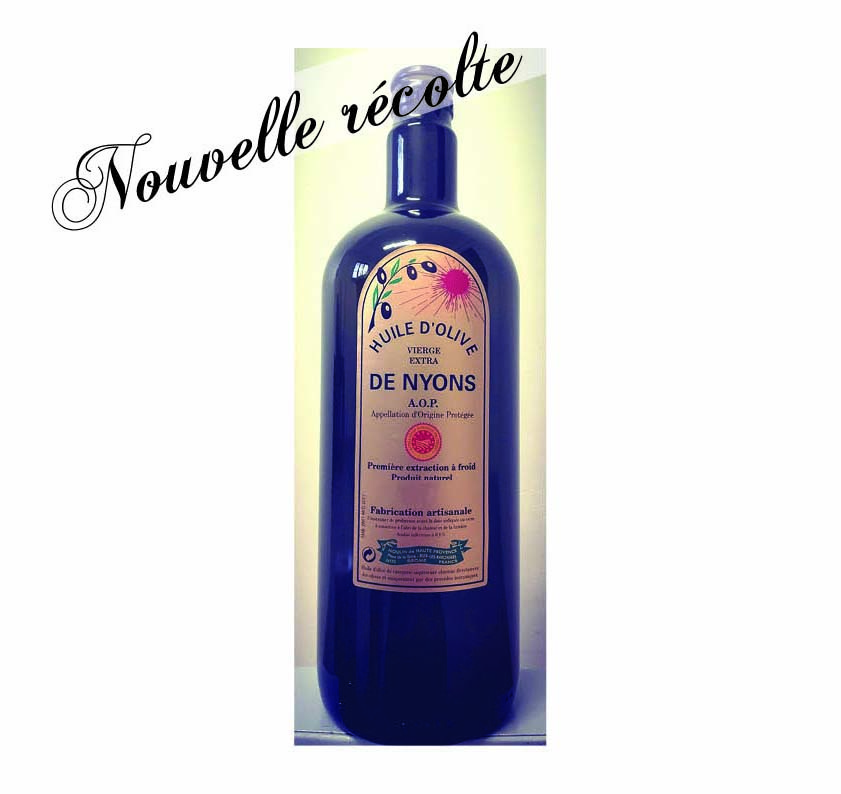 Huile d\'olive AOP Nyons 75 cl