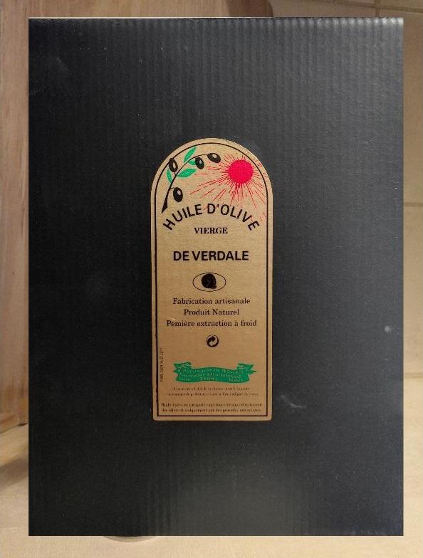 Bag in box Verdale 5L - moulin de haute provence