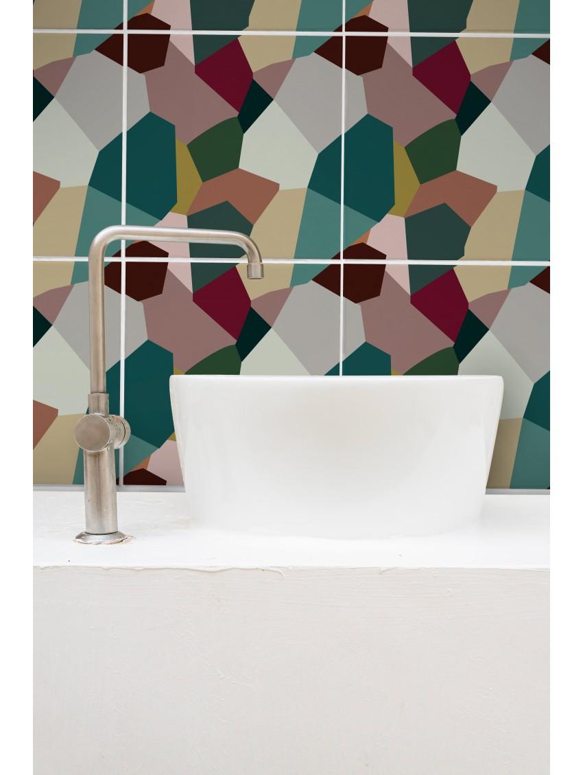 Éclats mosaïque - Papermint - Stickers set de 9 planches