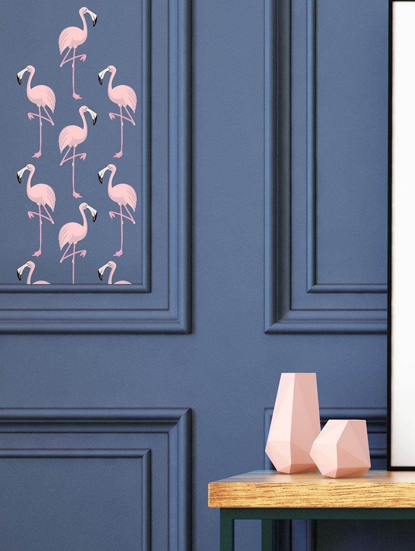 Flamingo - Papermint - Stickers set de 4 planches