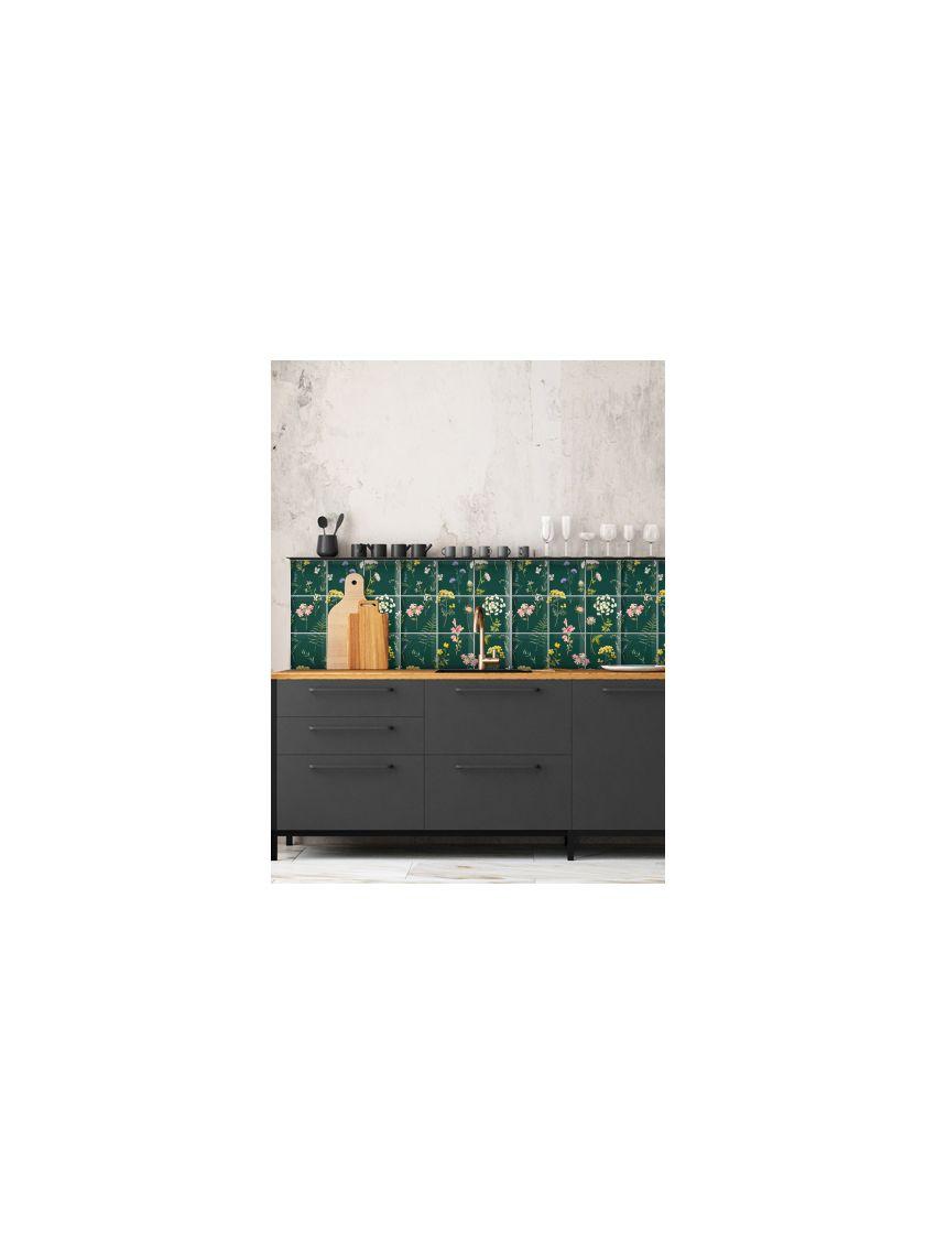 Herbier mosaïque - Papermint - Stickers set de 9 planches