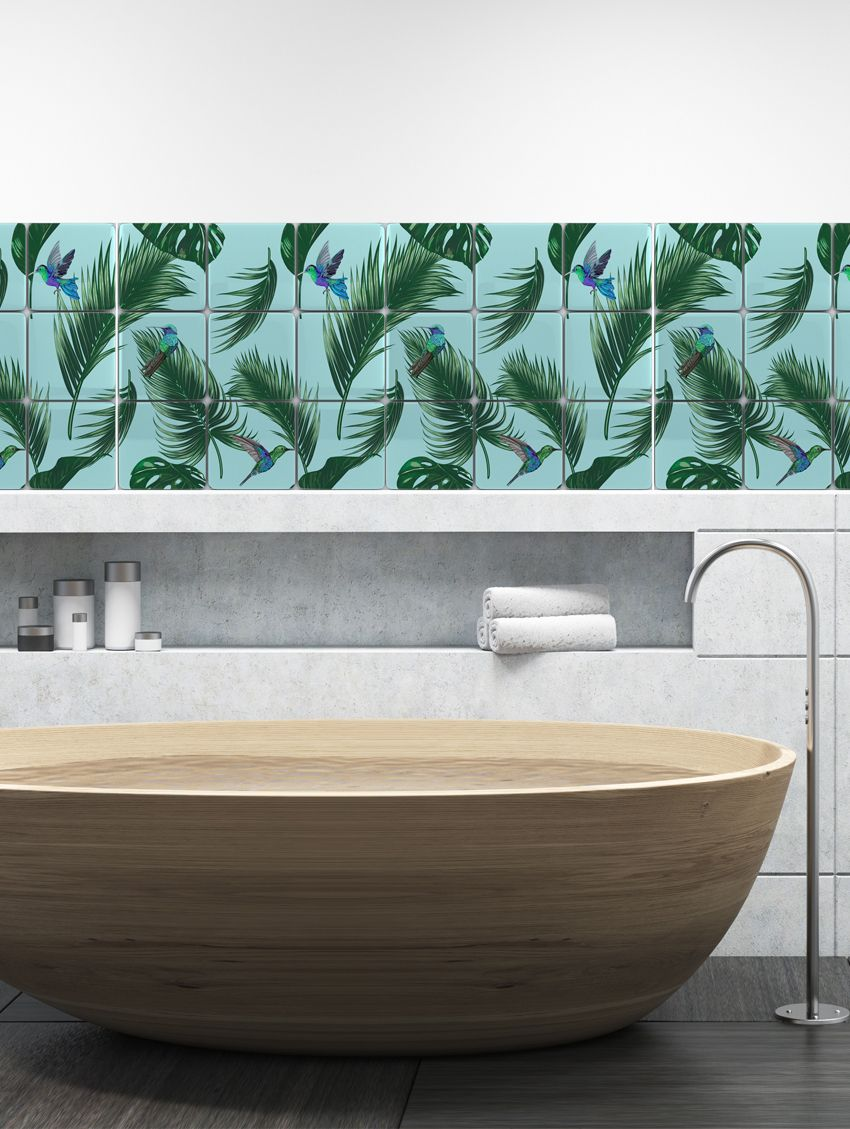 Jungle mosaïque - Papermint - Stickers set de 9 planches
