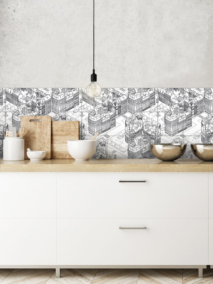 Paris mosaïque - Papermint - Stickers set de 9 planches