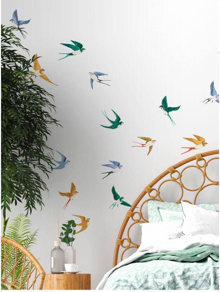 Swallow - Papermint - Stickers set de 5 planches
