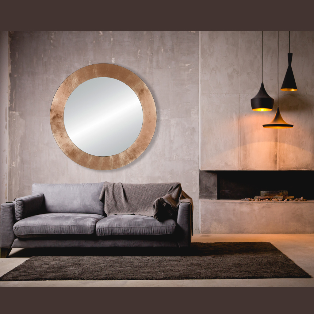 Miroir Basic Circle - Deknudt