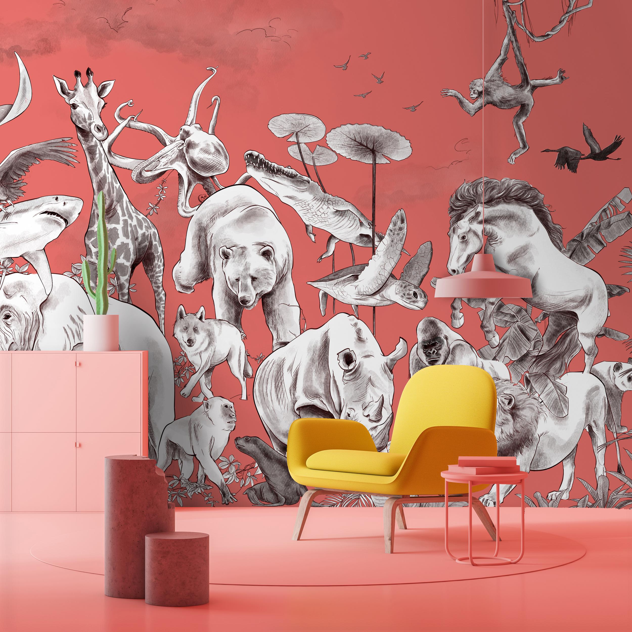 Noé - PaperMint - fresque - H300