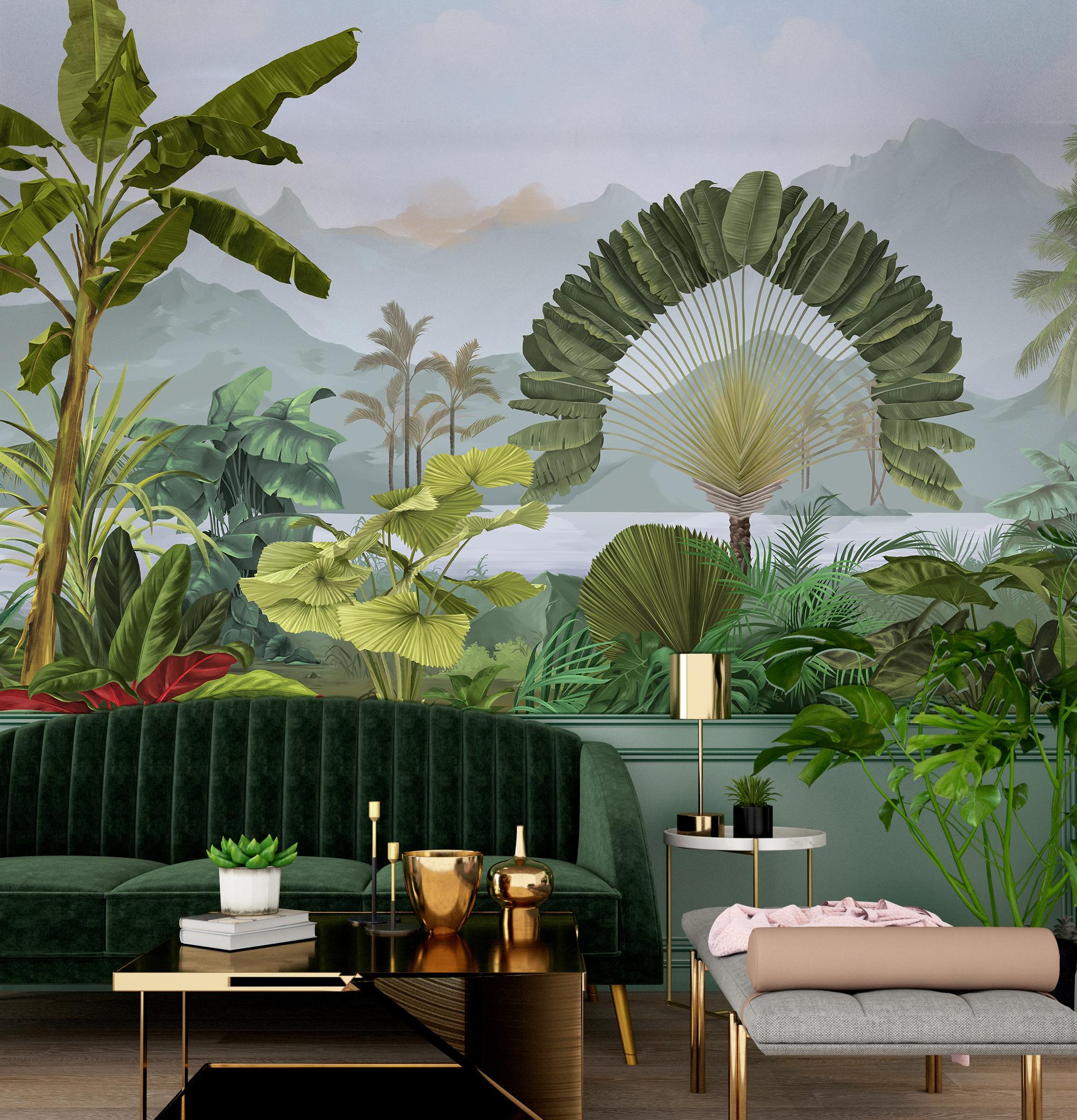 Amazonia - PaperMint - fresque - H250