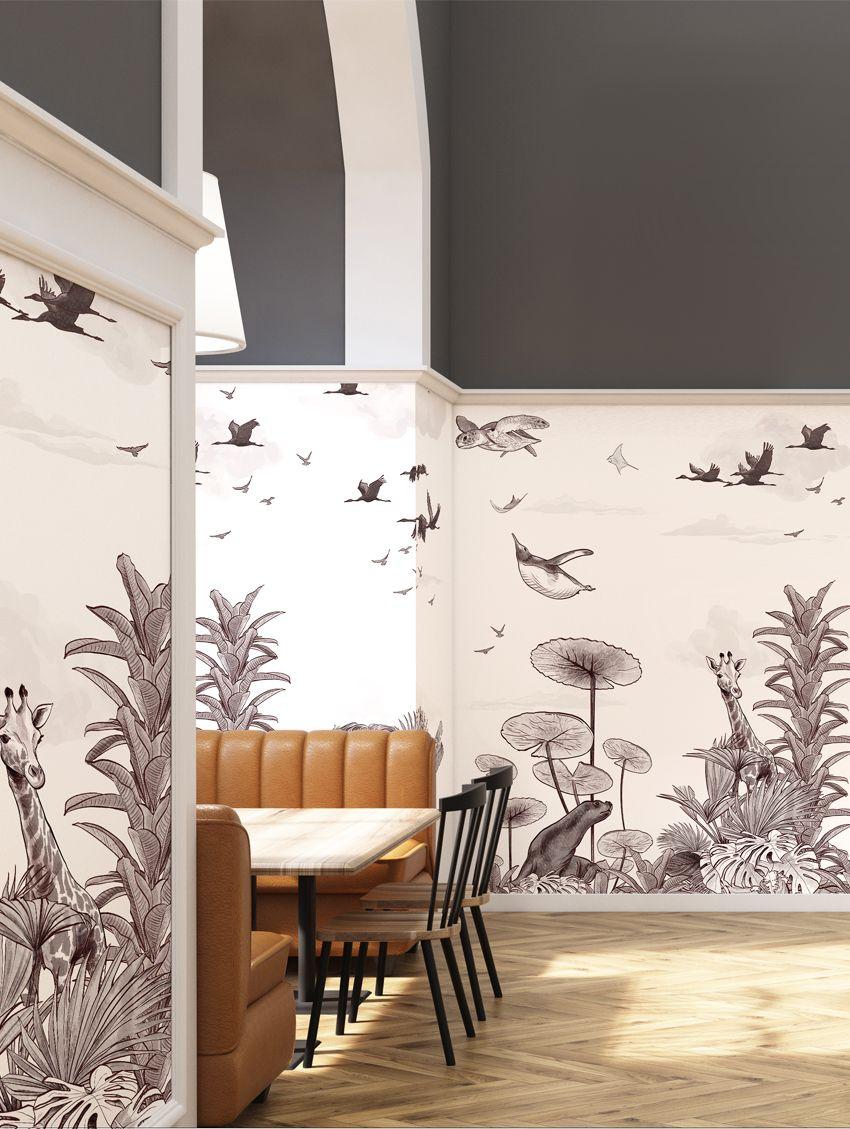 Naama - PaperMint - fresque - H250 x L234cm