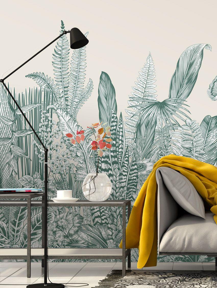 Botanic - PaperMint - fresque - H250 x L234cm