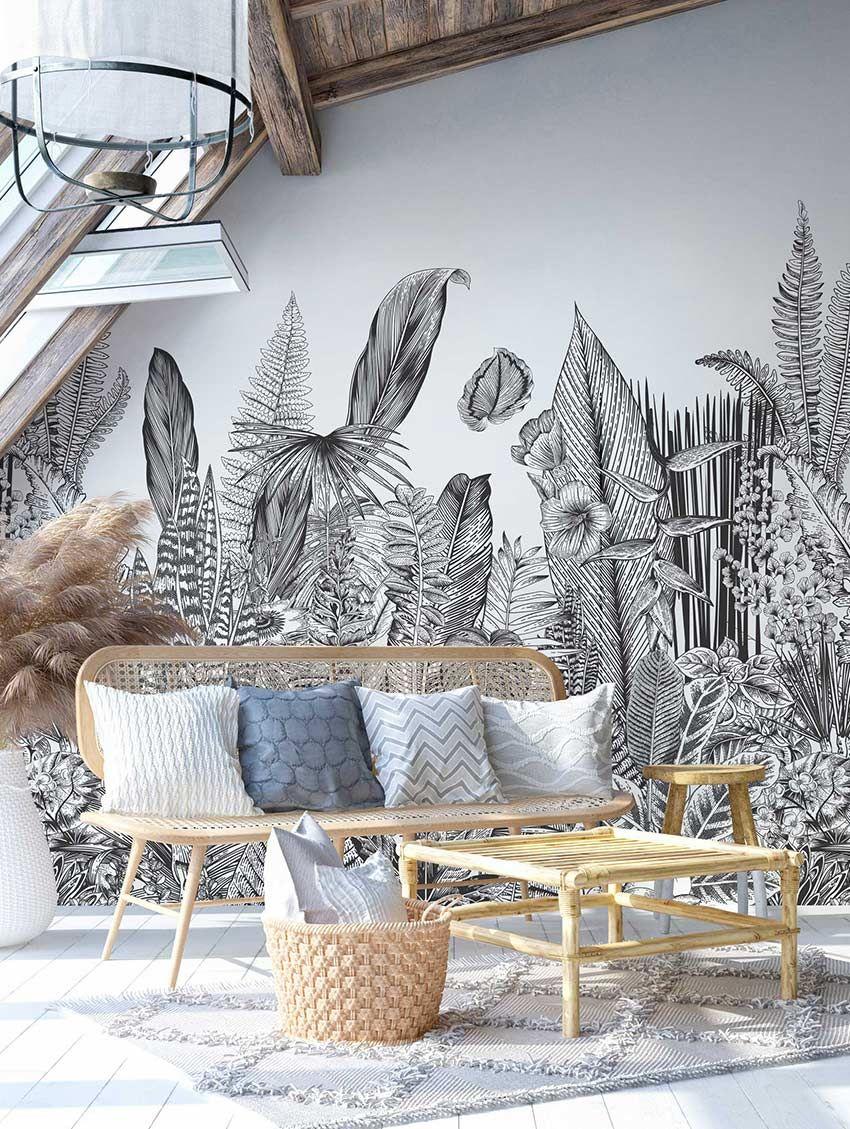 Botanic - PaperMint - fresque - H300 x L234cm
