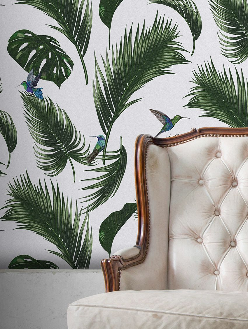 Jungle - PaperMint - fresque - H250 x L156cm