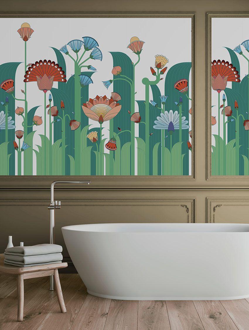 Jardin Exotique - PaperMint - fresque - H300 x L234cm