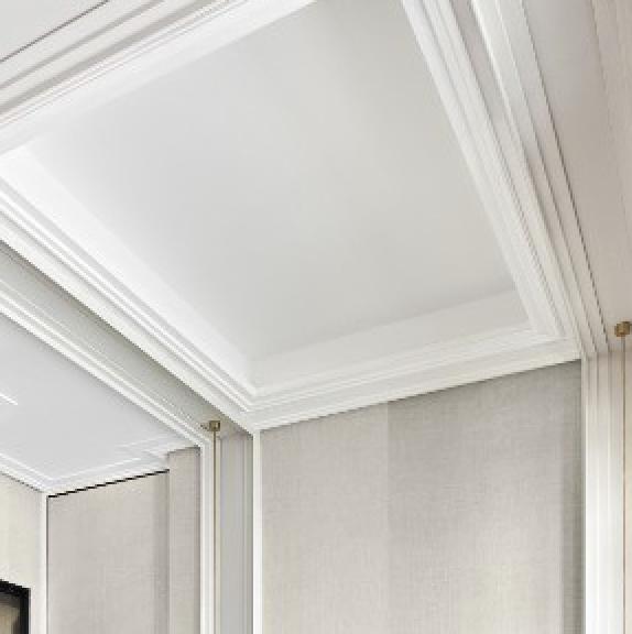 Corniche Steps 10 cm pour rideaux - Orac décor