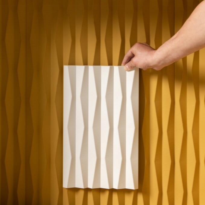 Revêtement mural 3D texturé - Ridge - Orac décor