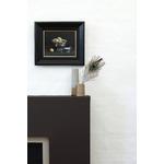 Chocolate 124, Flint 236 Detail